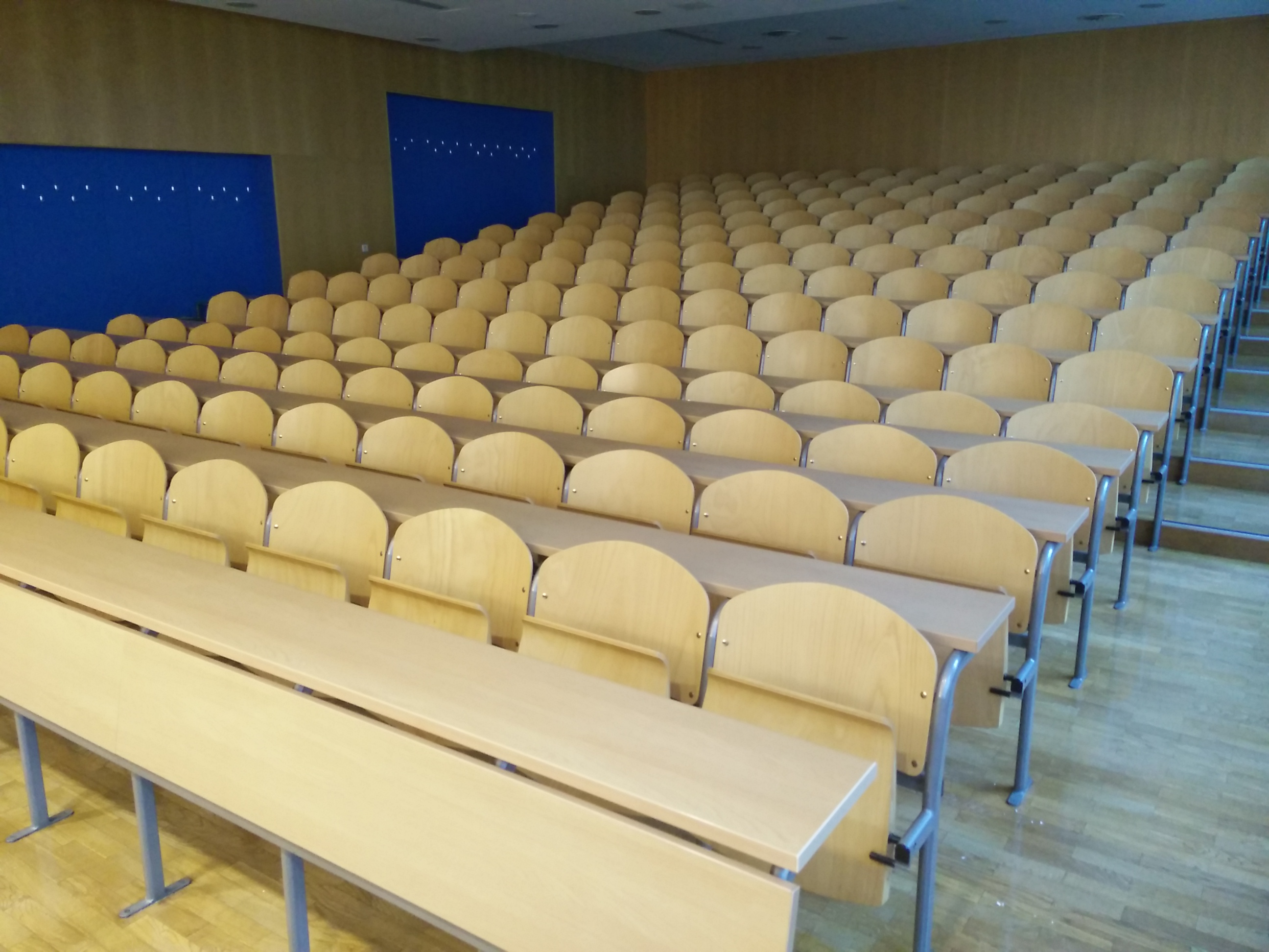 Lecture rooms.