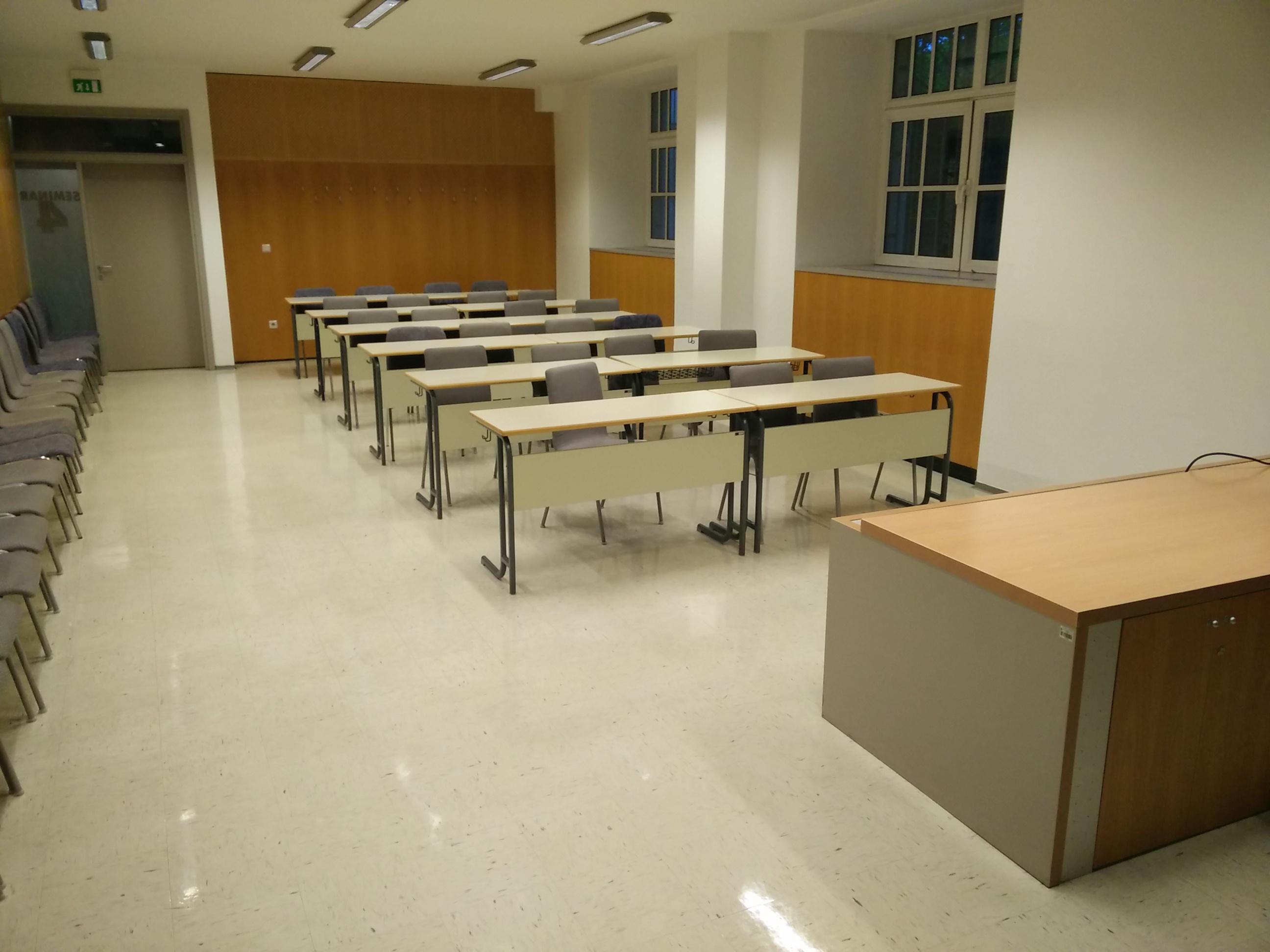Seminar rooms.